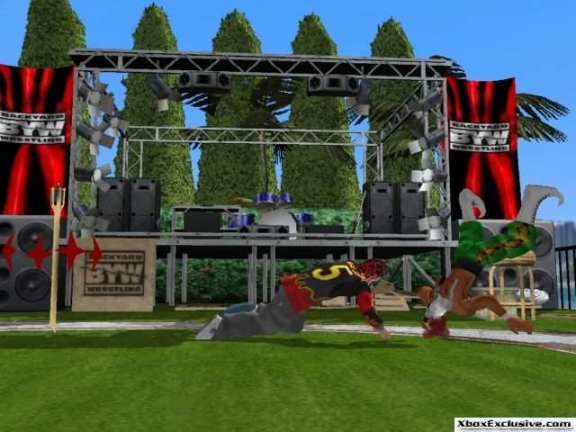 XBOX Exclusive.com: XBOX Previews: Backyard Wrestling: Don ...